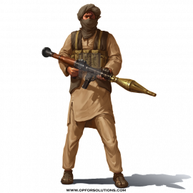 South Asian Insurgent Apparel Kit