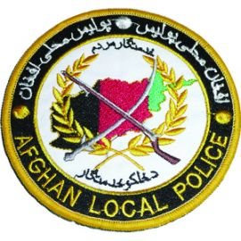 Afghan Local Police Patch