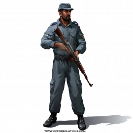 Afghan National Police Uniform Kit