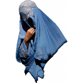 Women's South Asia Burka