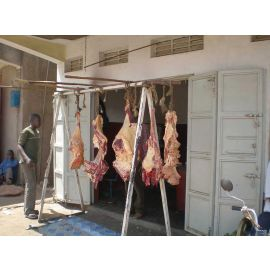 Butcher Meat Market Vendor