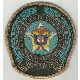 Colombian Police Patch