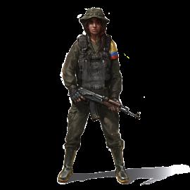 FARC Rebel Uniform Costume
