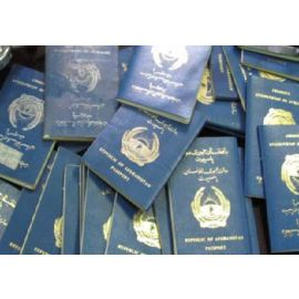 Fake Afghani Passports