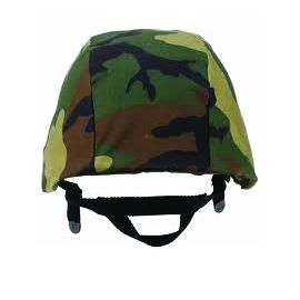 Woodland Camo Helmet cover