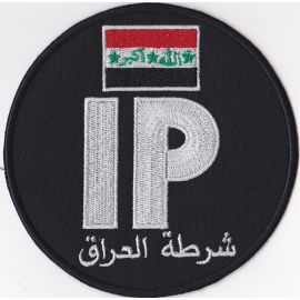 Iraqi Police Force Patch