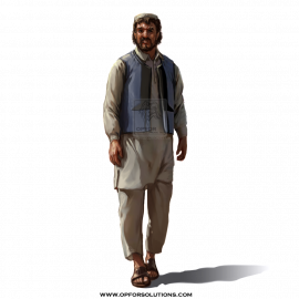 Libyan Male Civilian Apparel
