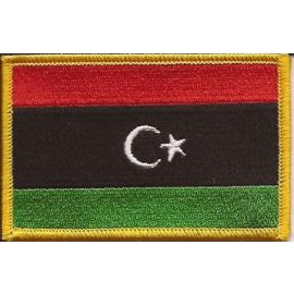 Libyan Flag Patch