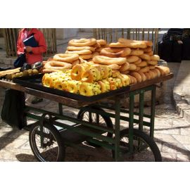 Bread Cart Vendor