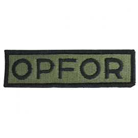 OPFOR Name Patch