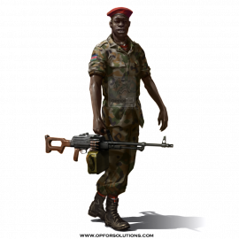 Sudan Army Land Force Uniform