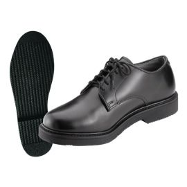 Oxford Leather Uniform Boots