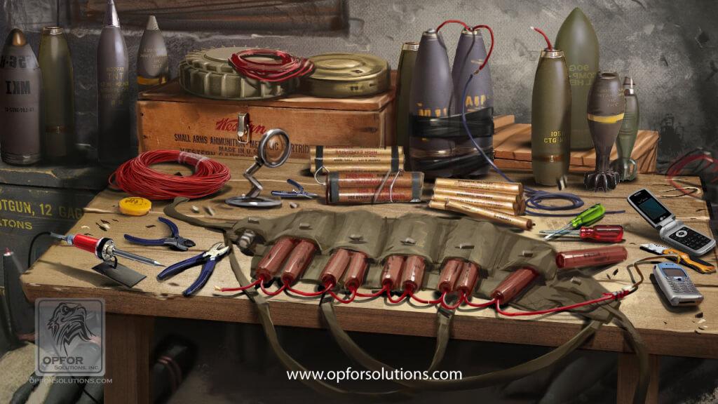 Region Specific Improvised Explosive Kits